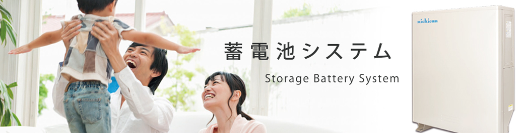 蓄電池システム Storage Battery System